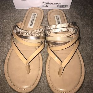 Steve Madden Julie multi strap sandals-women's 5.5